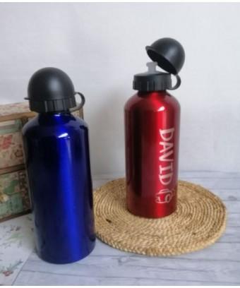 Botella AZUL aluminio 650ml...